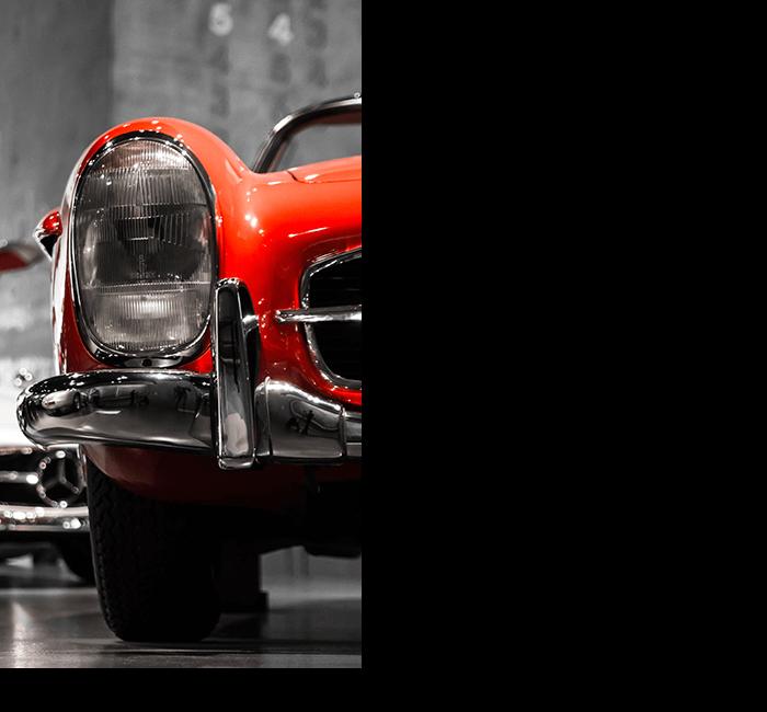 vroomer - regeneracja reflektorów w starych samochodach